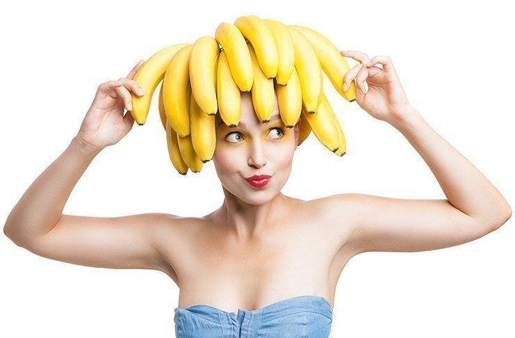 Маски с бананом для волос