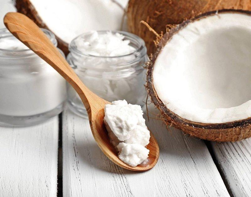 Масла для секущихся концов с кокосовым маслом