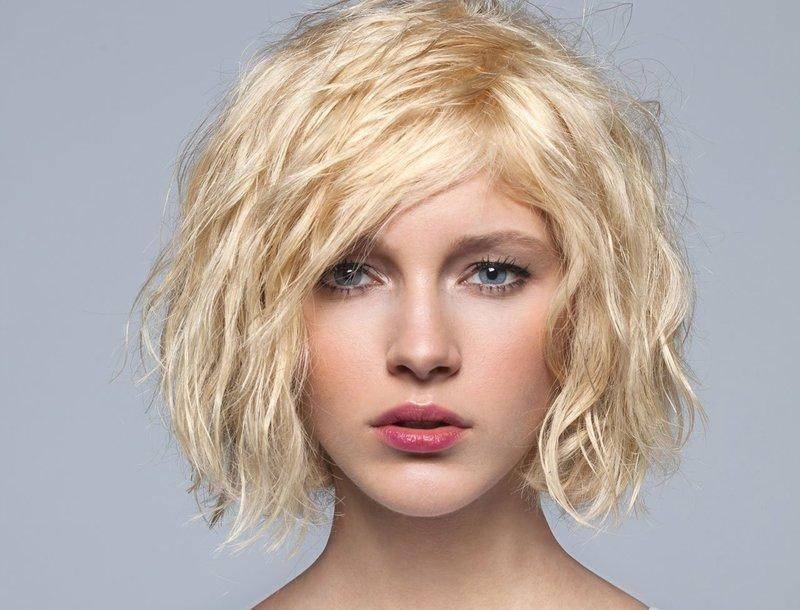 Причёска с эффектом