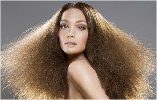 Сухие, ослабленные волосы