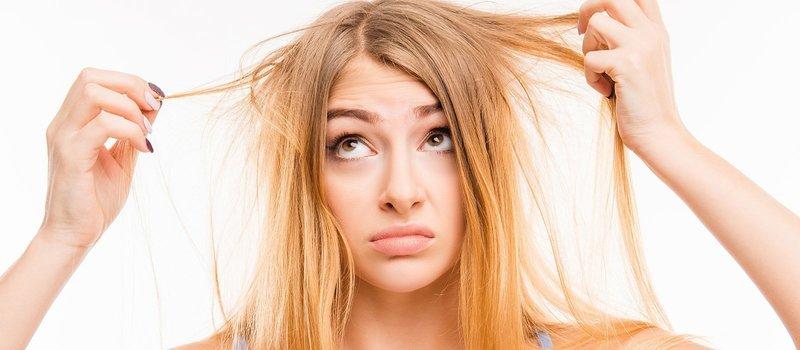Симптомы поврежденных волос