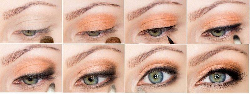 Пошаговое выполнение дневного макияжа юля блондинок