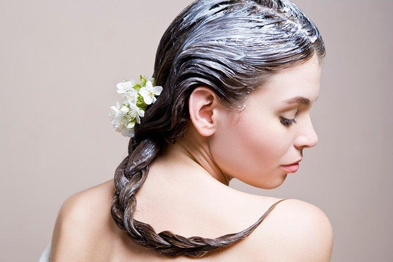 Маска из белка для волос