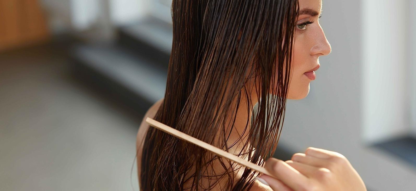 Правильное нанесение маски для чувствительной кожи головы