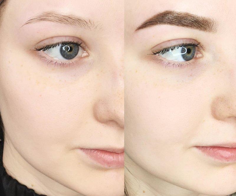 Комбинированная техника перманентного макияжа
