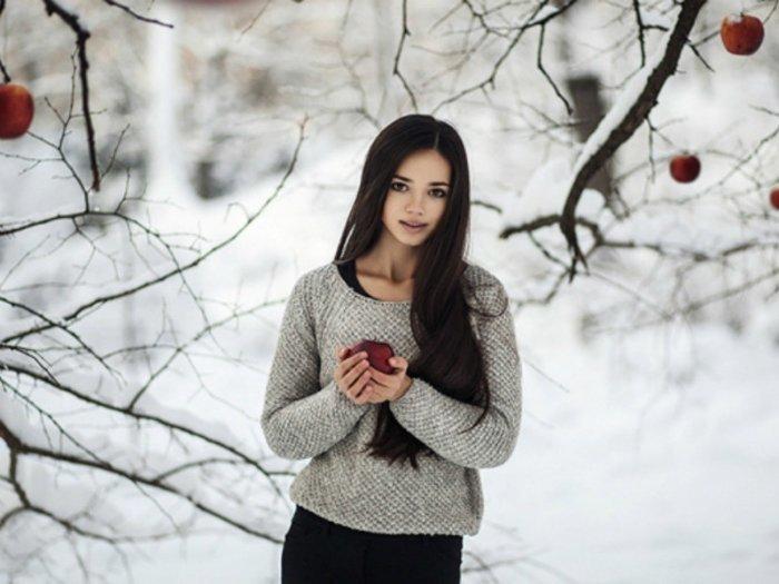 Макияж для зимней фотосессии