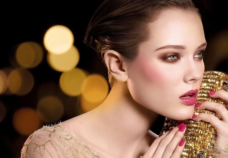Нюдовый макияж для нового года