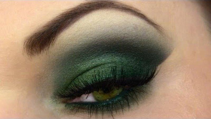 Смоки айс в зеленом цвете