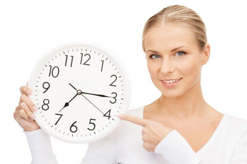 Установление точного времени для приёма препарата