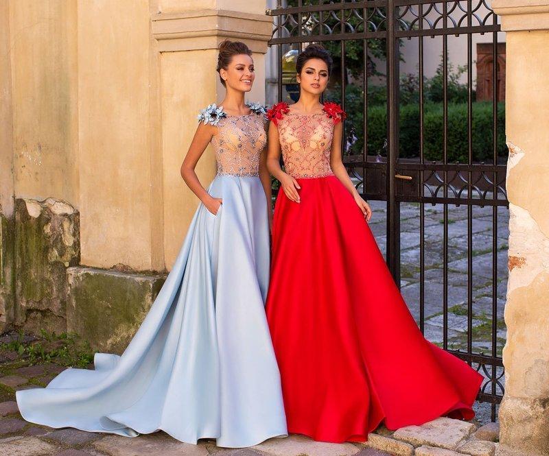 Самые модные цвета платьев на выпускной
