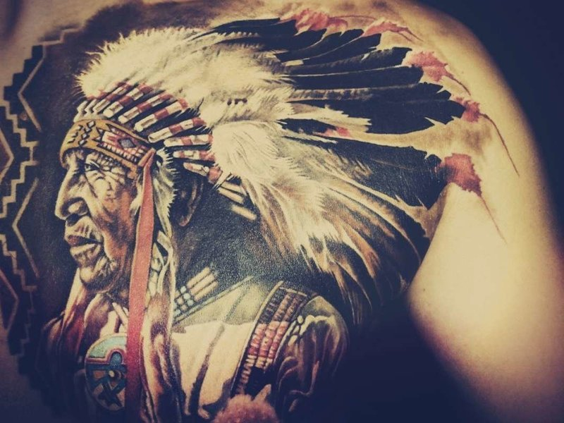 Индейские тату-обереги