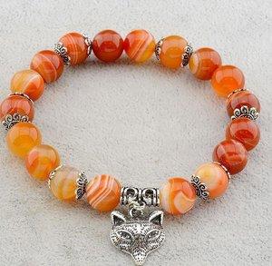 Оранжево-жёлтый сердолик
