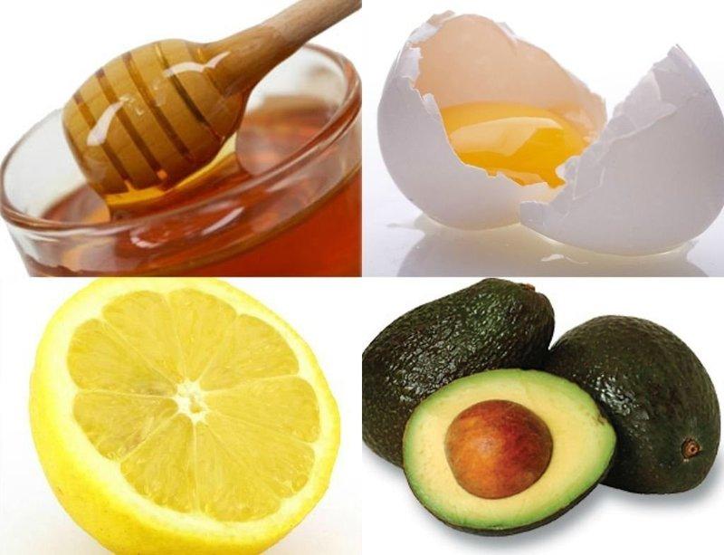 Маска с лимоном и желтком