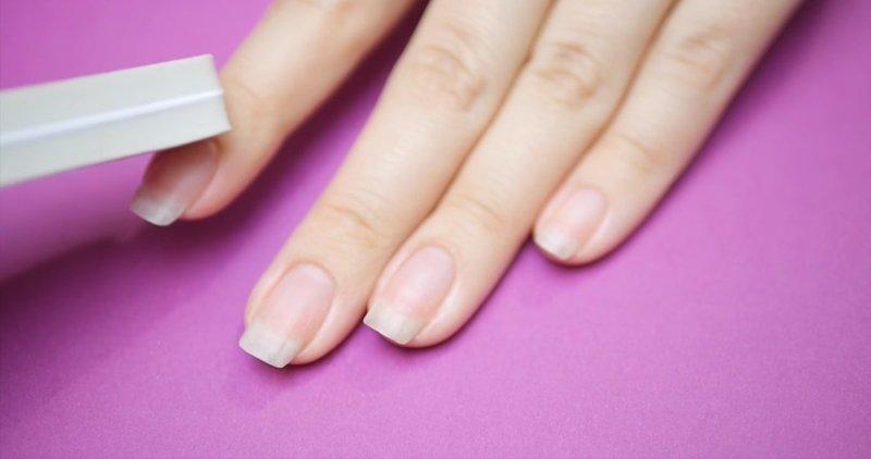 Шлифовка ногтя