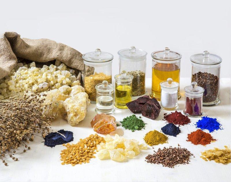 Натуральные ингредиенты для окрашивания волос
