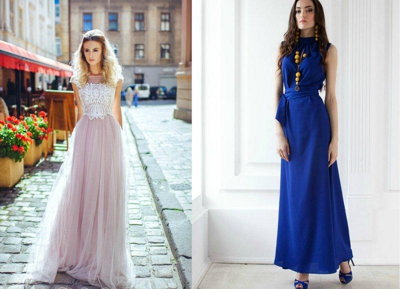 Модные тенденции платьев на выпускной
