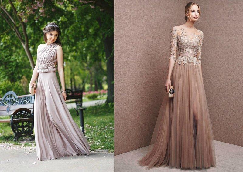 Модели выпускных платьев