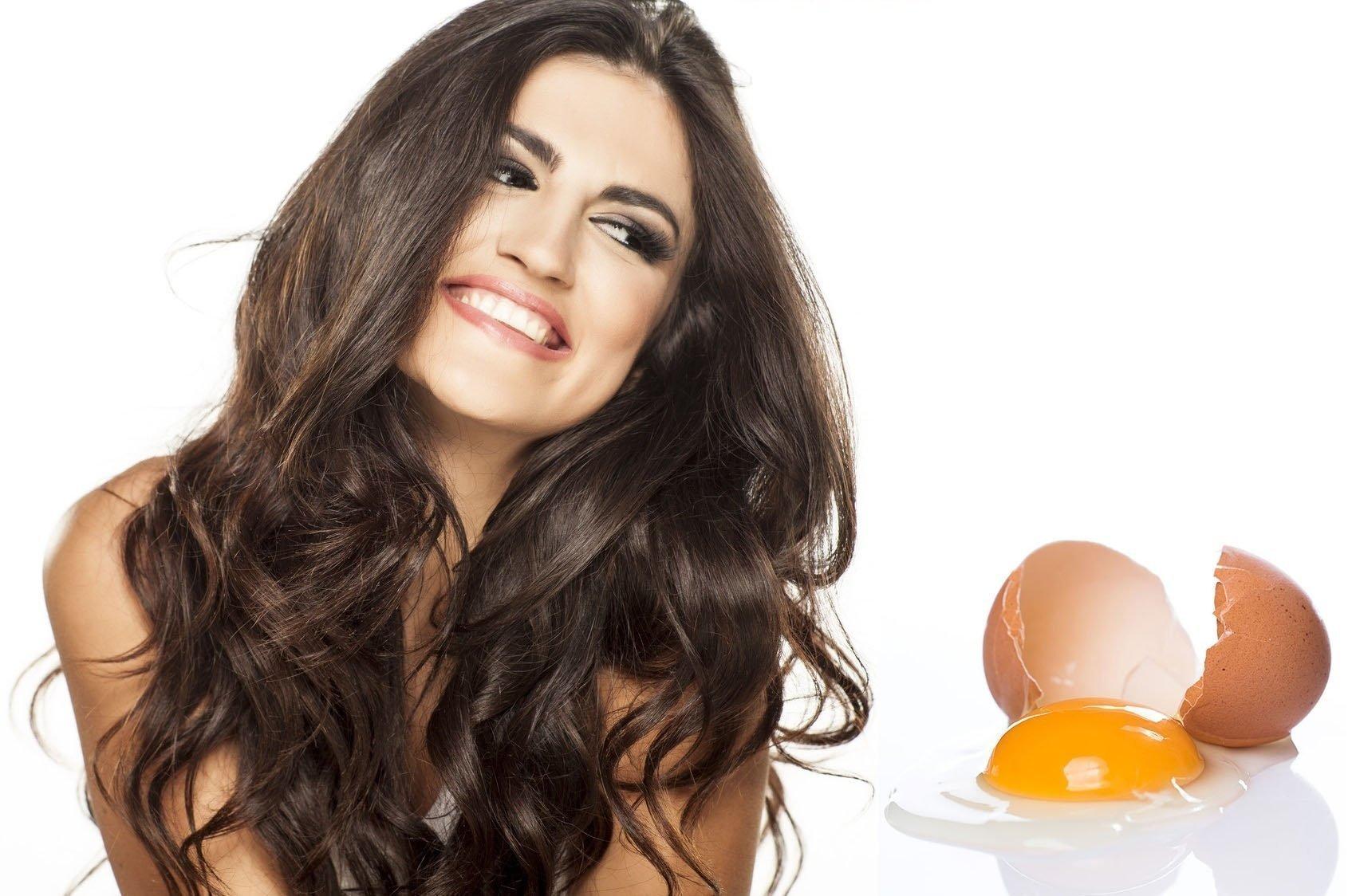 Маска для волос из яйца – маски из яичного желтка для роста волос