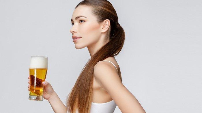 Маски для волос с пивом: польза и рецепты