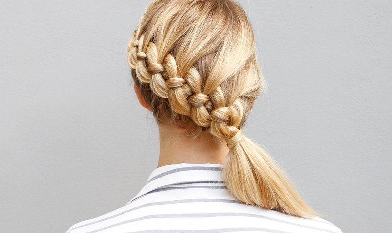 Ассиметричная коса
