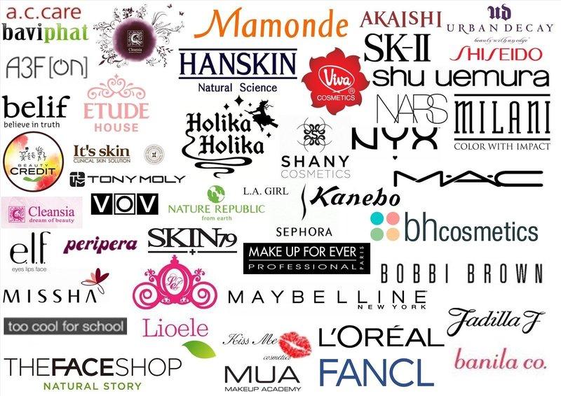 Мировые производители косметики
