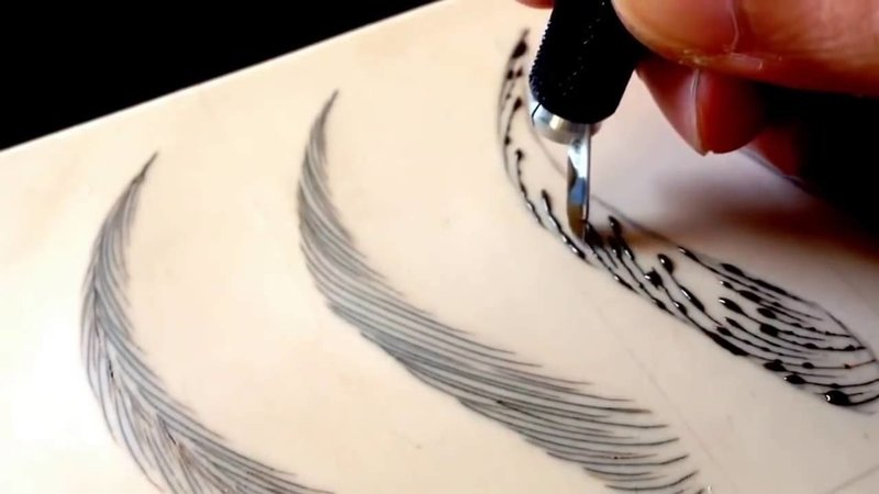 Виды волоскового татуажа