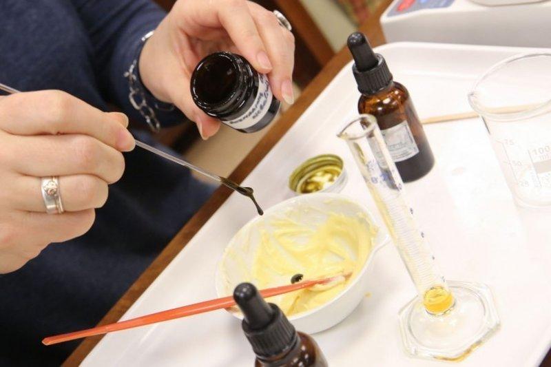 Тестирование косметического крема