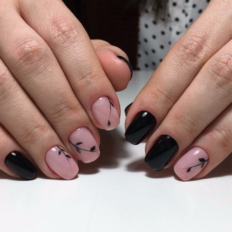 Нежное покрытие ногтей шеллаком