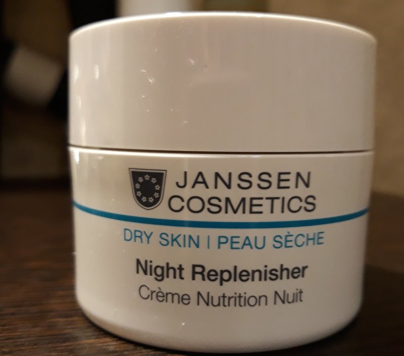 Ночной крем для лица Night Replenisher Janssen