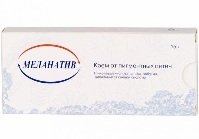 """Крем """"Меланатив"""""""