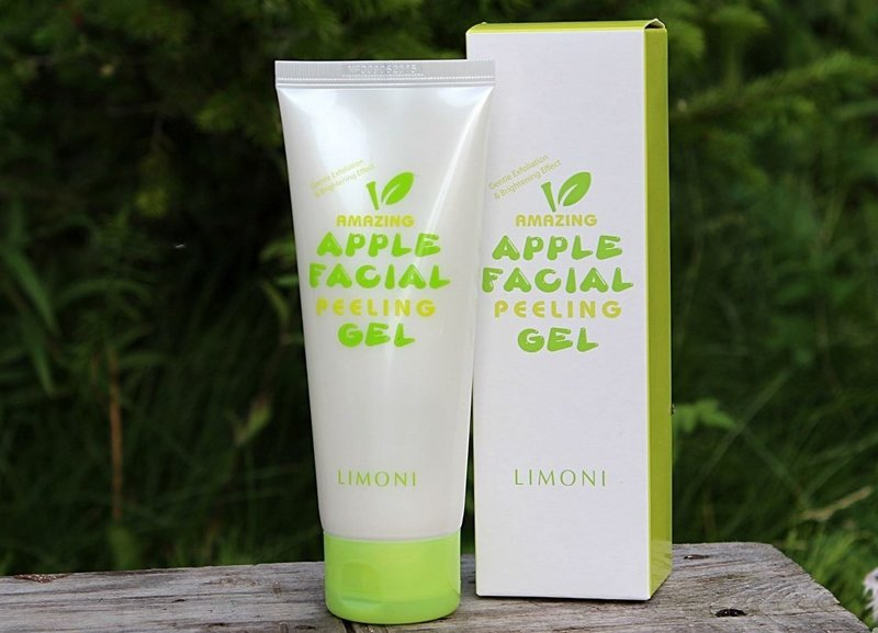 Пилинг для лица Limoni Apple facial peeling gel