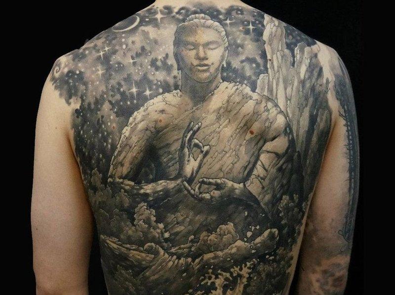Буддийские тату-обереги