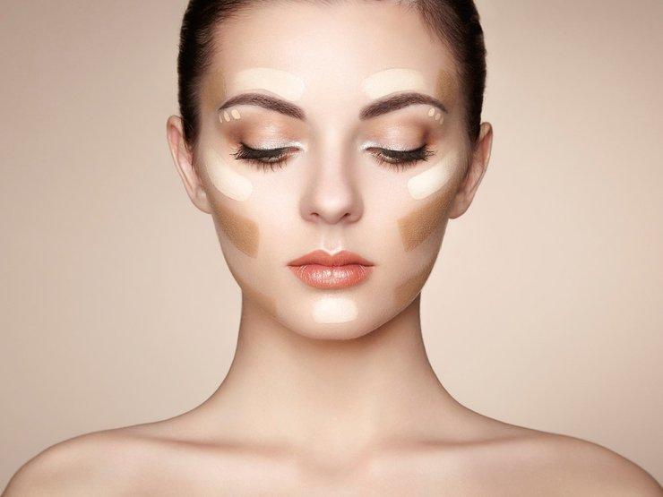 Как сделать макияж в технике стробинг?