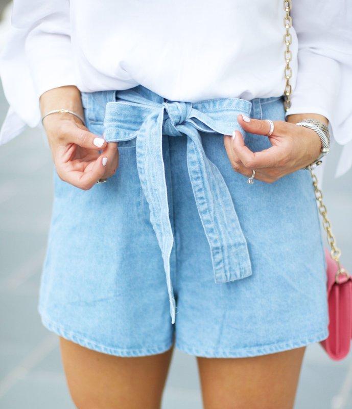 Летние женские шорты пастельных тонов