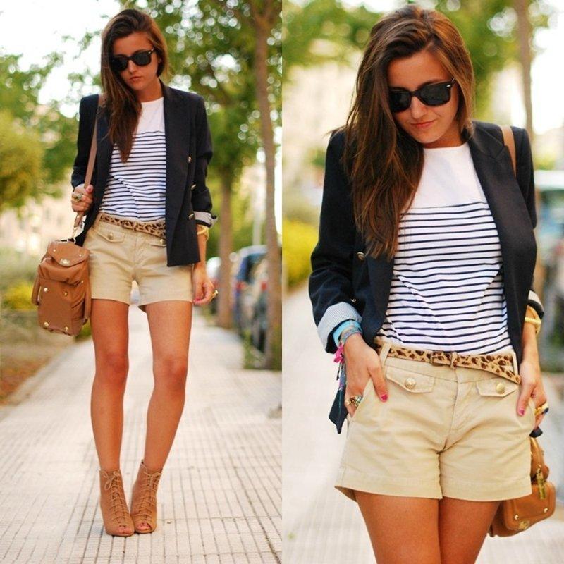 Женские шорты в стиле casual