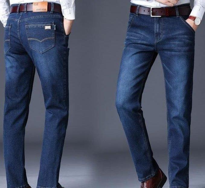 Классический фасон мужских джинсов