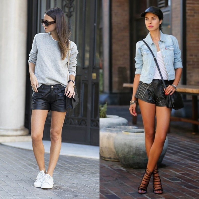 Модные шорты на лето