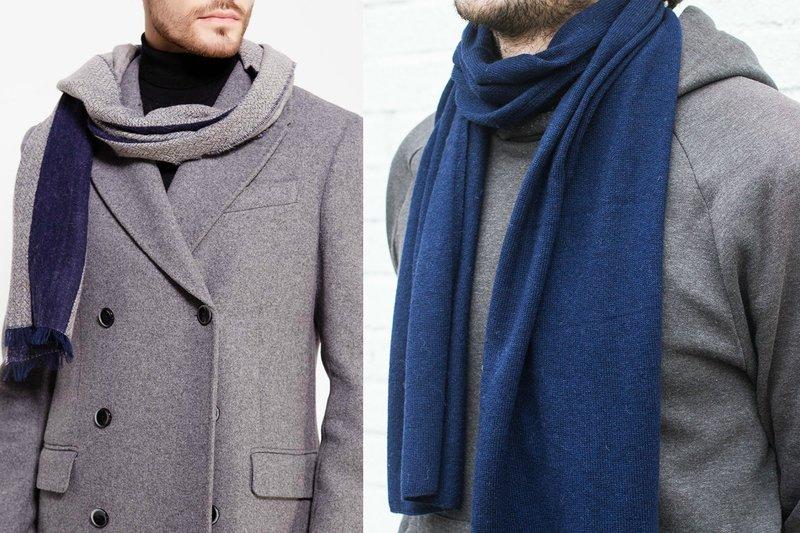 Классический шарф для мужчин