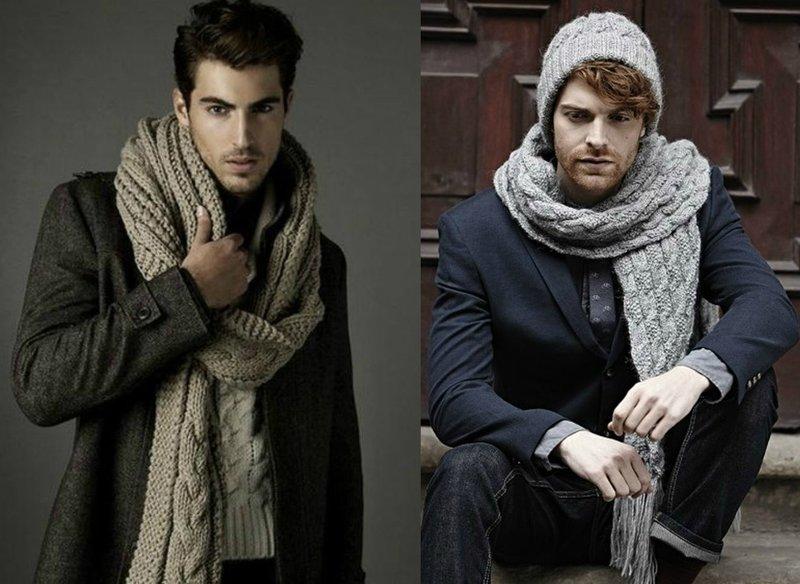 Длинные шарфы для мужчин