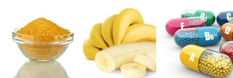 Желатиновая маска с бананом и витаминами