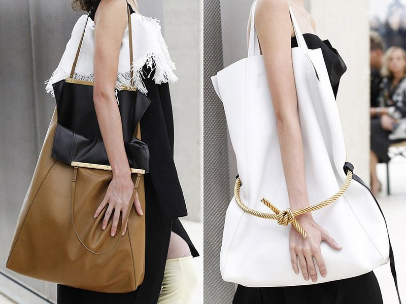 Модные большие сумки