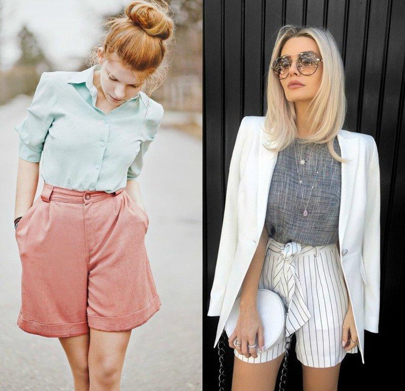 Модные женские шорты 2019: новые тренды