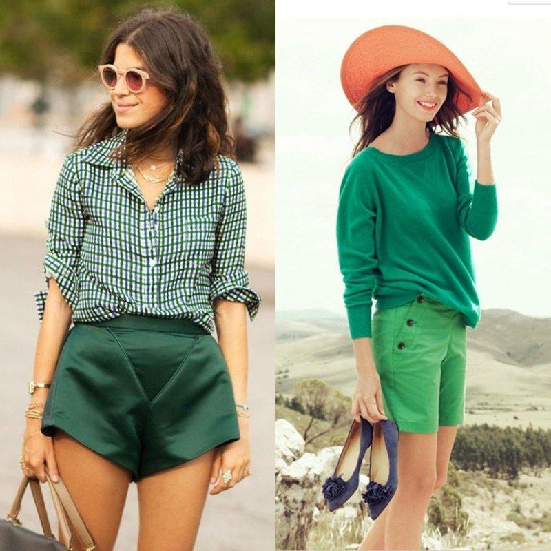 Женские шорты: коротенькие и удлиненные