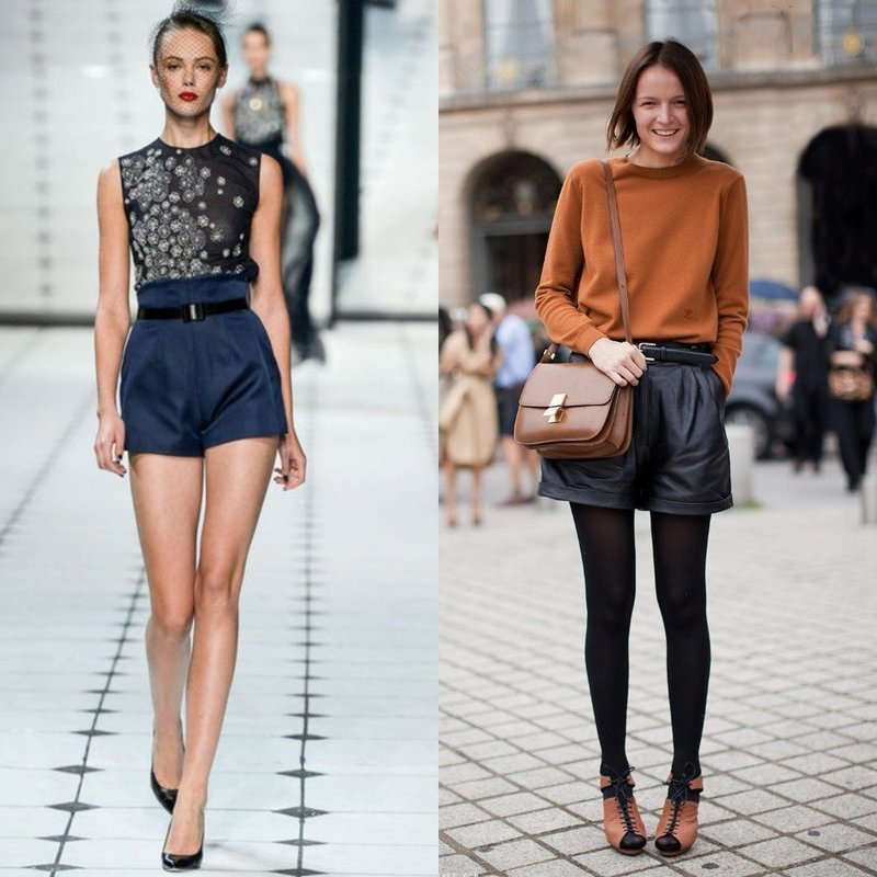 Модные тенденции женских шорт