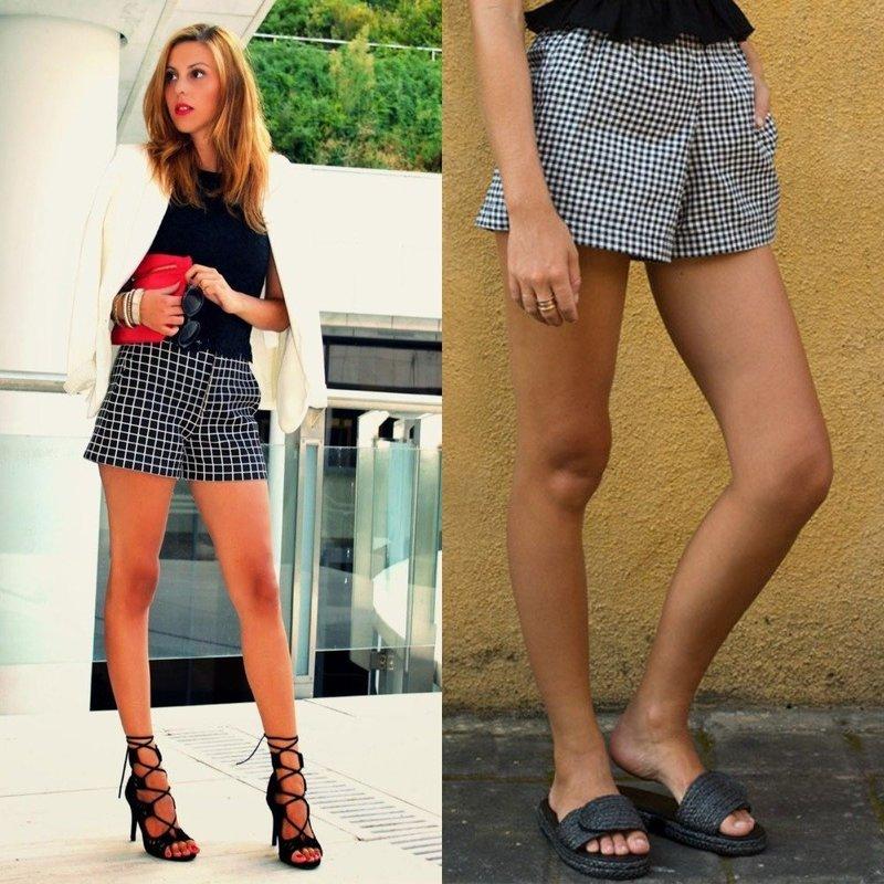 Модные фасоны летних шорт