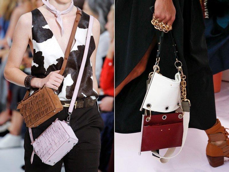Комбинированные сумки