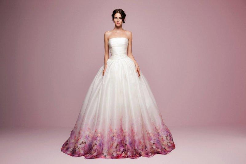 Пышное весеннее платье