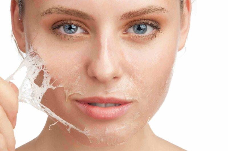 Маска из желатина для кожи лица