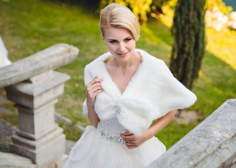 Свадебная пелерина