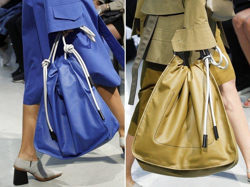 Массивные сумки-рюкзаки